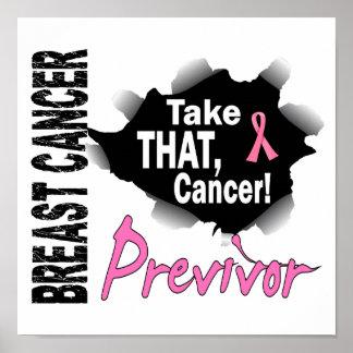 Previvor 7 Breast Cancer Poster