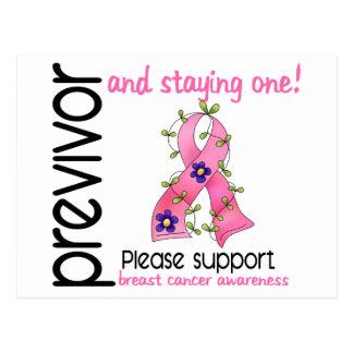 Previvor 9 Breast Cancer Postcard