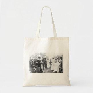 Prewar Field Days British Military Nurses Budget Tote Bag