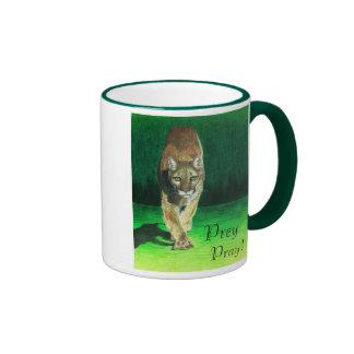 Prey Pray Mountain Lion Mug