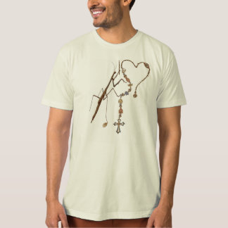 Preying Mantis Praying With Everything He's Got! T-Shirt