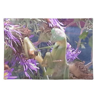 Preying Mantis  & Purple Cone Flowers Placemat