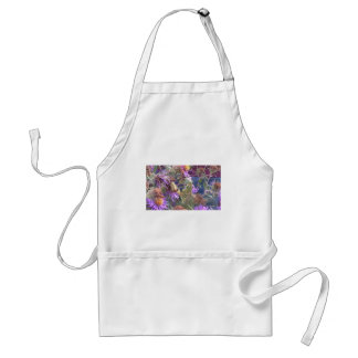 Preying Mantis  & Purple Cone Flowers Standard Apron