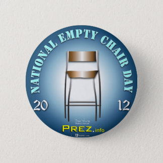 PREZ.info - Empty Chair 3 6 Cm Round Badge