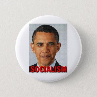 Prez Obama socialism 6 Cm Round Badge