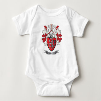 Price Family Crest Coat of Arms Baby Bodysuit