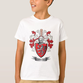 Price Family Crest Coat of Arms T-Shirt