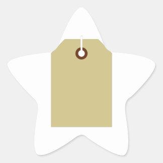 Price Tag Star Sticker