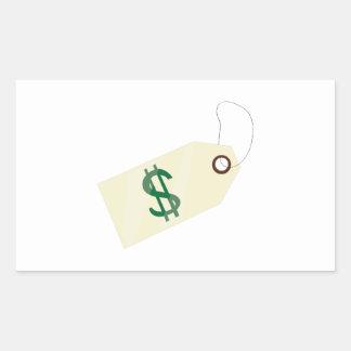 Price Tag Rectangular Sticker