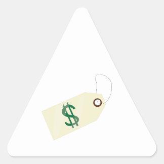 Price Tag Triangle Sticker