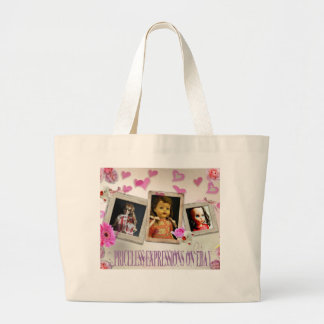 Priceless Expressions on eBay Jumbo Tote Bag
