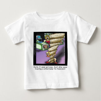 Pricey Heavenly Stairway Funny Baby T-Shirt