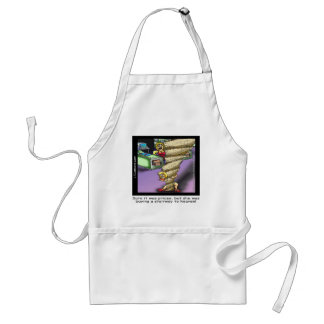 Pricey Heavenly Stairway Funny Standard Apron