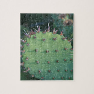 Prickley Pear Pad Jigsaw Puzzle