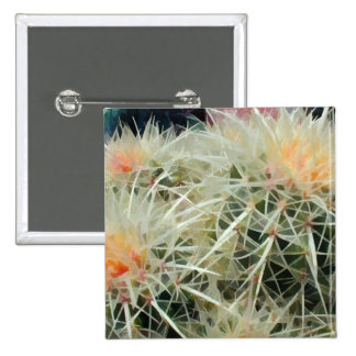 Prickly Barrel Cactus Buttons