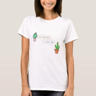 Prickly Cactus Love T-Shirt