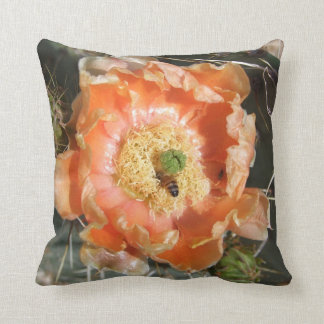 Prickly Pear bloom with Bee Pillow