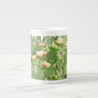 Prickly Pear Blooms China Coffee/Tea Cup