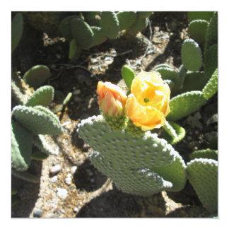 Prickly Pear Bunny 13 Cm X 13 Cm Square Invitation Card