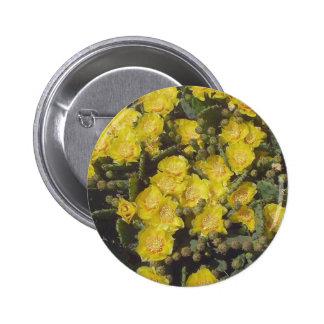 Prickly Pear Cactus 6 Cm Round Badge