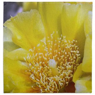 Prickly Pear Cactus Bloom Cloth Napkin