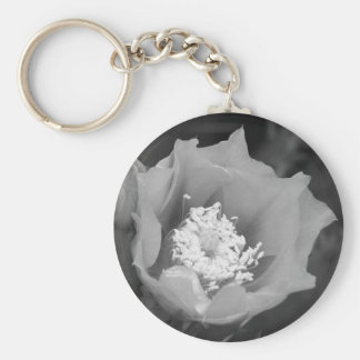 Prickly Pear Cactus Bloom Keychains