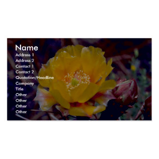 Prickly Pear Cactus Business Card Templates
