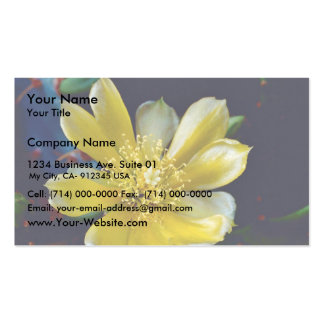 Prickly Pear Cactus Business Cards