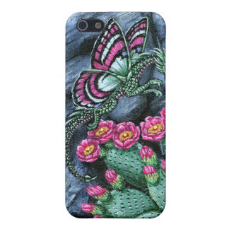 Prickly Pear Cactus Dragon Fly Cover For iPhone 5/5S