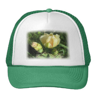 Prickly Pear Cactus Flower Trucker Hats