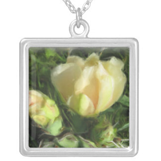Prickly Pear Cactus Flower Jewelry