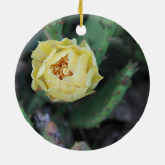 Prickly Pear Cactus Flower ornament