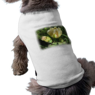 Prickly Pear Cactus Flower Sleeveless Dog Shirt