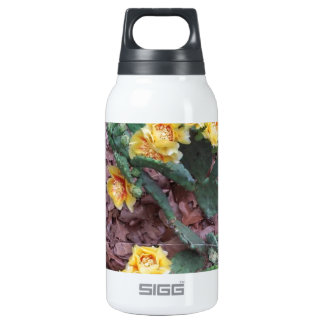 Prickly Pear Cactus Flowers 0.3 Litre Insulated SIGG Thermos Water Bottle