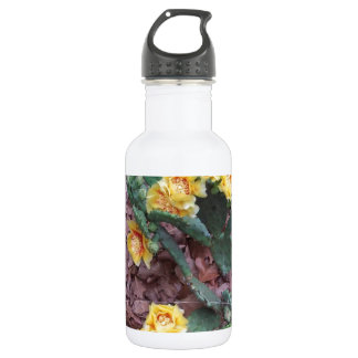 Prickly Pear Cactus Flowers 532 Ml Water Bottle