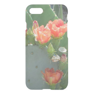 Prickly Pear Cactus Green Red Bloom iPhone 7 Case