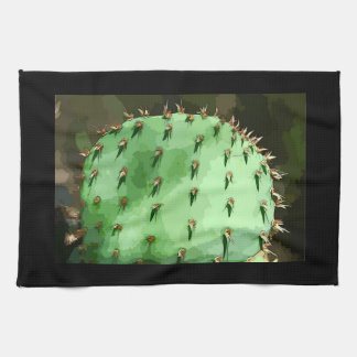 Prickly Pear Cactus Kitchen Towel