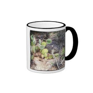 prickly pear cactus mug