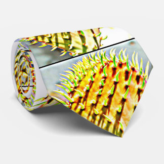 Prickly Pear  Cactus Paddle Men's Tie
