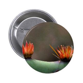 Prickly Pear cactus Pinback Button
