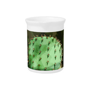 Prickly Pear Cactus Pitcher