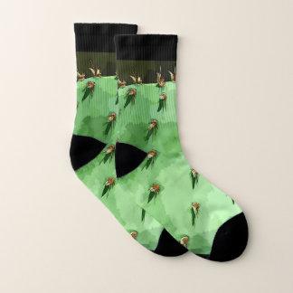 Prickly Pear Cactus Unisex Socks
