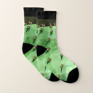 Prickly Pear Cactus Unisex Socks 1