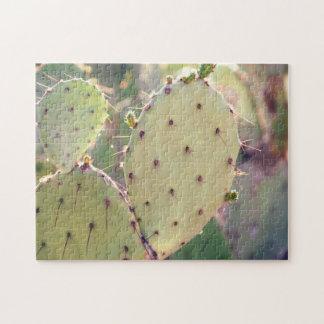 Prickly Pear Closeup   Puzzle