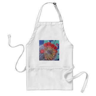 Prickly Pear in Bloom Adult Apron
