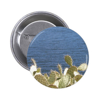 Prickly Pear on the Lake Buttons