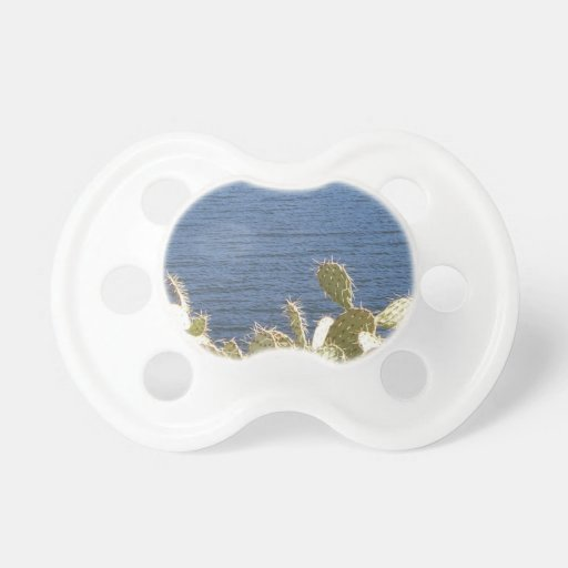 Prickly Pear on the Lake Pacifier
