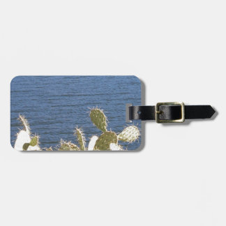 Prickly Pear on the Lake Luggage Tag