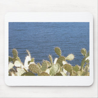 Prickly Pear on the Lake Mouse Pad