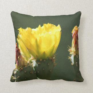 Prickly Pear / Opuntia Blossom Cushion